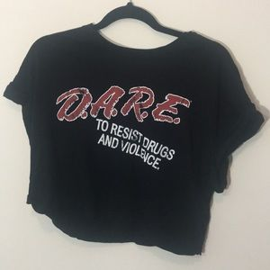 D.A.R.E. Crop Top